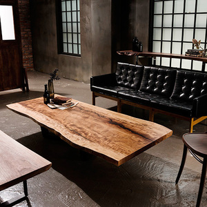 JapaneseHorse Chestnut Woodslab Table [181662]