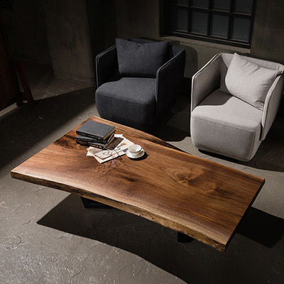 Blackwalnut Woodslab Sofa Table [181668]