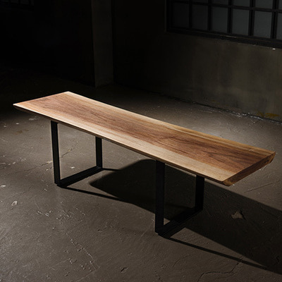 Blackwalnut Woodslab Sofa Table [181675]