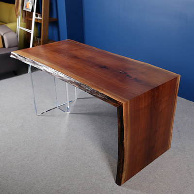 Blackwalnut Woodslab Desk [181701]