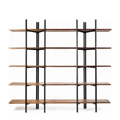 Walnut Folding Bookshelf WB-8225 ★ [10%SALE]